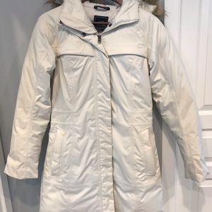Womens North Face Down Arctic Parka